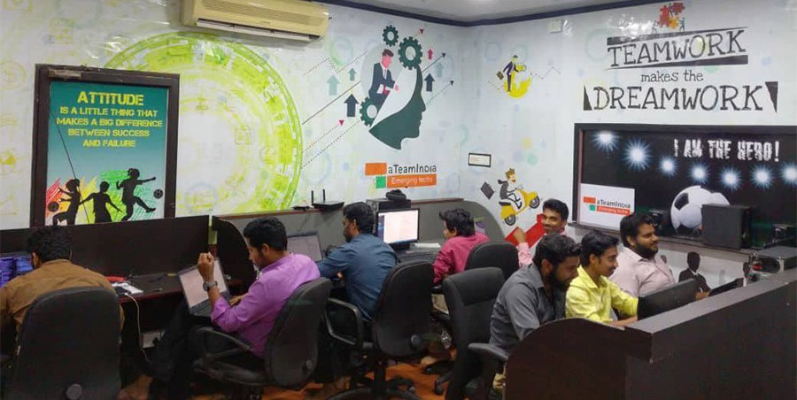 Software Developers in aTeamIndia