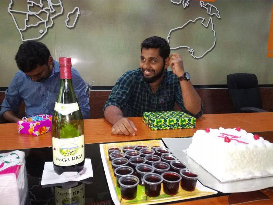 Client celebration