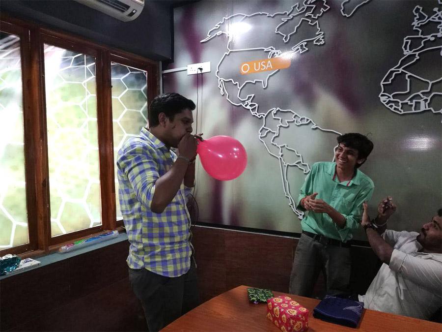Celebration @ office