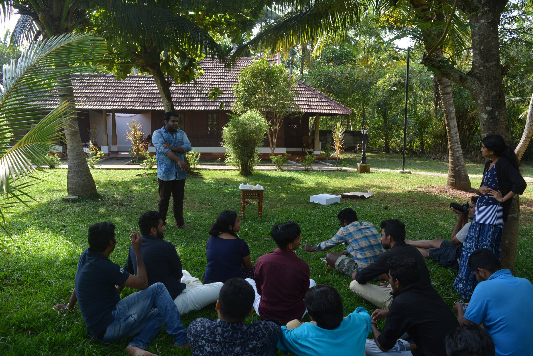 Team discussion@ Poovar