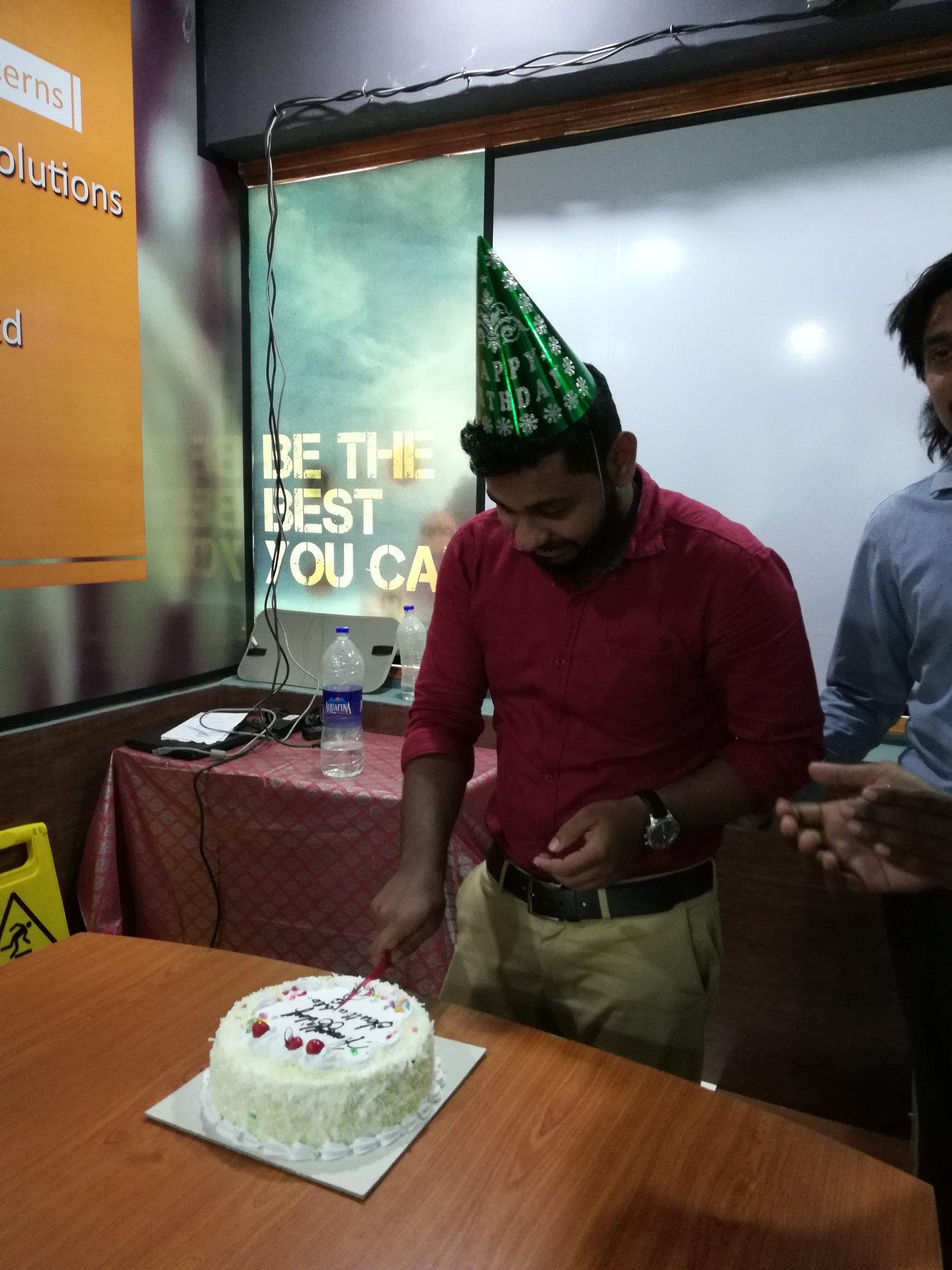 Team Mate birthday