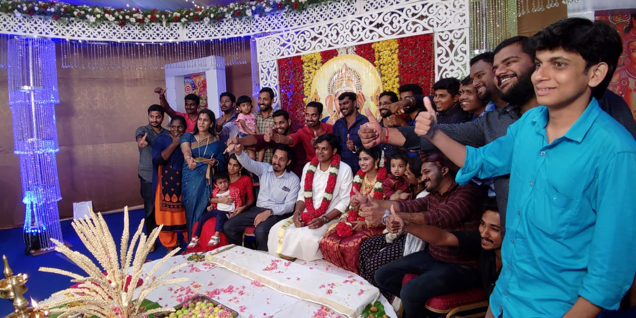 Team at marriage